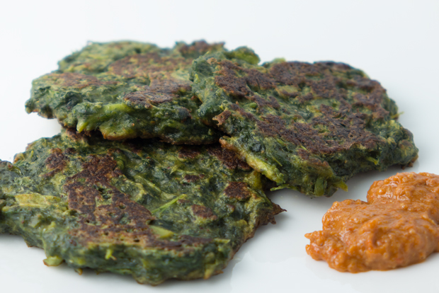 Kale fritters