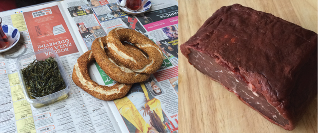 Simit and pastrima
